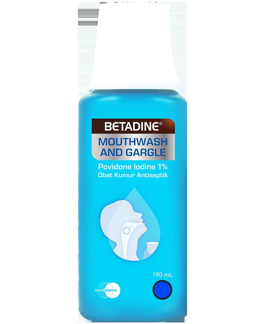 BETADINE® Mouthwash & Gargle